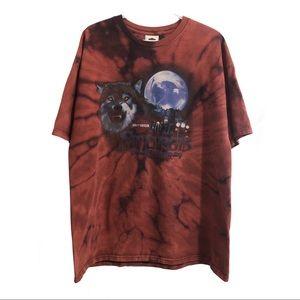 Harley Davidson, Sturgis 2009, distressed t-shirt.